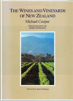 Secondhand Used Book - THE WINE AND VINEYARDS OF NEW ZEALAND by Michael Cooper