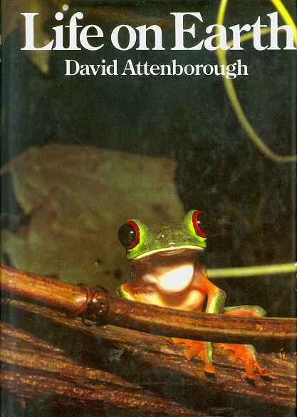 Secondhand Used Book - LIFE ON EARTH by David Attenborough