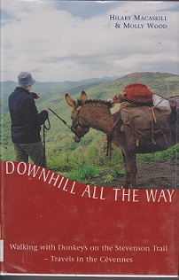 Secondhand Used Book - DOWNHILL ALL THE WAY by Hilary Macaskill & Molly Wood