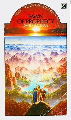 Secondhand Used Book - PAWN OF PROPHECY by David Eddings