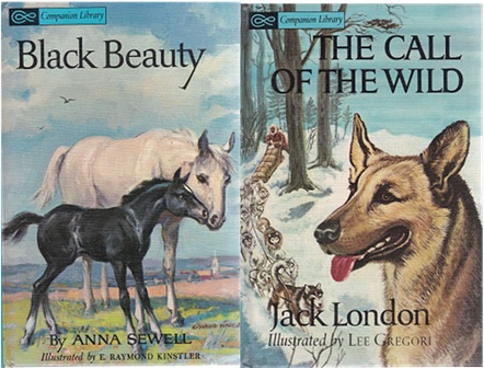 Secondhand Used Book - BLACK BEAUTY by Anna Sewell & THE CALL OF THE WILD by Jack London
