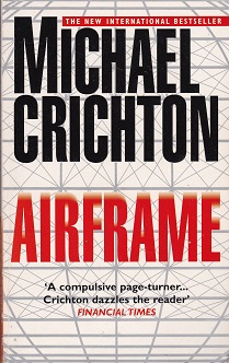 Secondhand Used Book - AIRFRAME by Michael Crichton
