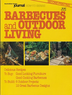 Secondhand Used Book - BARBECUES AND OUTDOOR LIVING