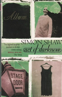 Secondhand Used Book - ACT OF DARKNESS by Simon Shaw