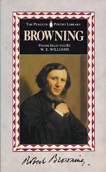 Secondhand Used Book - BROWNING:  POEMS selected by  W E Williams