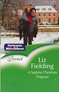 Secondhand Used book – A SURPRISE CHRISTMAS PROPOSAL by Liz Fielding