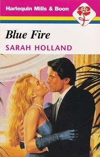 Secondhand Used Book – BLUE FIRE by Sarah Holland