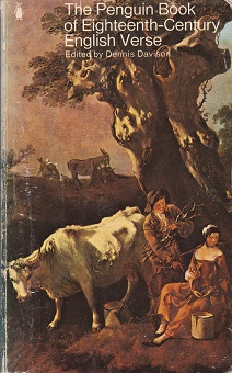 Secondhand Used Book – THE PENGUIN BOOK OF EIGHTEENTH-CENTURY ENGLISH VERSE edited by Dennis Davison
