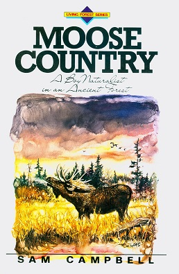Secondhand Used Book - MOOSE COUNTRY by Sam Campbell