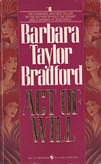 Secondhand Used Book – ACT OF WILL by Barbara Taylor Bradford