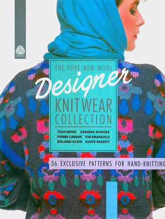 Secondhand Used Book - THE PURE NEW WOOL DESIGNER KNITWEAR COLLECTION