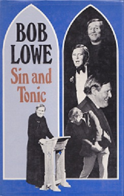 Secondhand Used Book - SIN AND TONIC by Bob Lowe