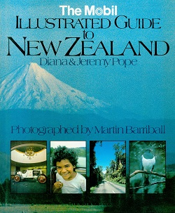 Secondhand Used Book - THE MOBIL ILLUSTRATED GUIDE TO NEW ZEALAND by Diana and Jeremy Pope