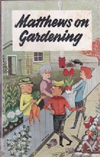 Secondhand Used Book - MATTHEWS ON GARDENING