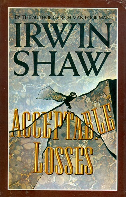 Secondhand Used Book - ACCEPTABLE LOSSES by Irwin Shaw