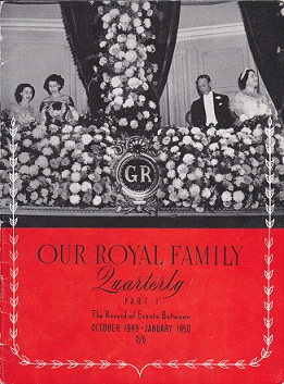 Secondhand Used Book - OUR ROYAL FAMILY QUARTERLY PART 1