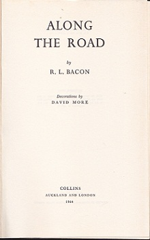 Secondhand Used Book - ALONG THE ROAD by R L Bacon