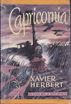 Secondhand Used Book - CAPRICORNIA by Xavier Herbert