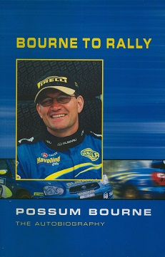 Secondhand Used book - BOURNE TO RALLY by Possum Bourne