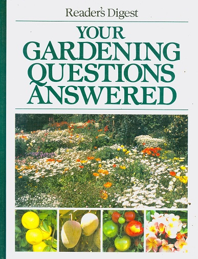 Secondhand Used book - READER'S DIGEST YOUR GARDENING QUESTIONS ANSWERED