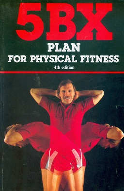 Secondhand Used book - 5BX PLAN FOR PHYSICAL FITNESS