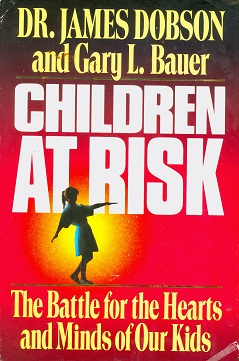 Secondhand Used Book - CHILDREN AT RISK by Dr James Dobson and Gary L Bauer