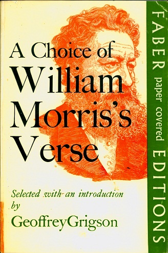 Secondhand Used Book - A CHOICE OF WILLIAM MORRIS'S VERSE