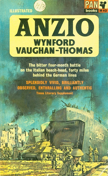 Secondhand Used Book - ANZIO by Wynford Vaughan-Thomas