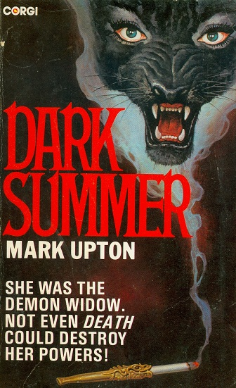 Secondhand Used Book - DARK SUMMER by Mark Upton