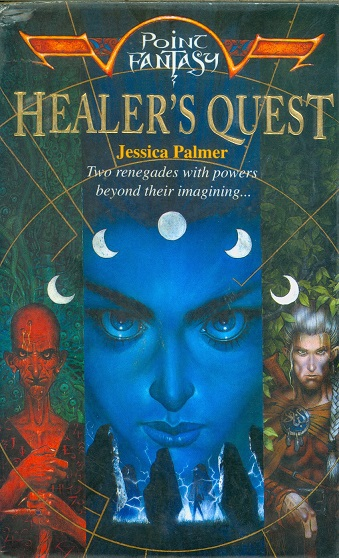 Secondhand Used Book - HEALER'S QUEST by Jessica Quest