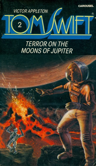 Secondhand Used Book - TOM SWIFT: TERROR ON THE MOONS OF JUPITER by Victor Appleton
