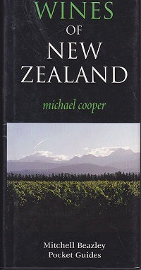 Secondhand Used Book - WINES OF NEW ZEALAND by Michael Cooper