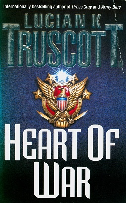 Secondhand Used book - HEART OF WAR by Lucian K. Truscott