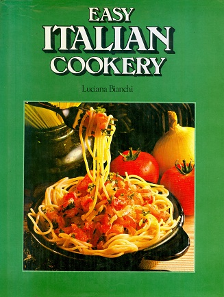 Secondhand Used Book - EASY ITALIAN COOKERY by Luciana Bianchi