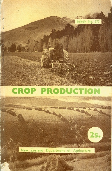 Secondhand Used Book - CROP PRODUCATION by New Zealand Department of Agriculture