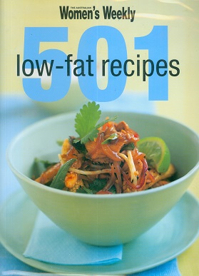 Secondhand Used Book - AUSTRALIAN WOMEN'S WEEKLY 501 LOW-FAT RECIPES