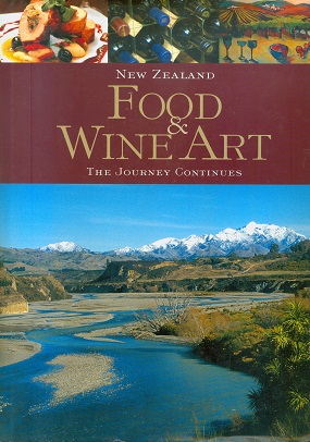 Secondhand Used Book - NEW ZEALAND FOOD & WINE ART