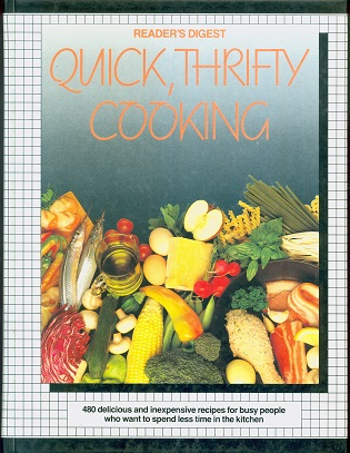 Secondhand Used Book - READER'S DIGEST QUICK, THRIFTY COOKING