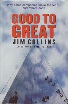 Secondhand Used Book - GOOD TO GREAT by Jim Collins