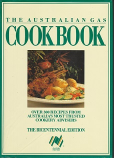 Secondhand Used Book - THE AUSTRALIAN GAS COOKBOOK