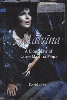 Secondhand Used Book - MALVINA by David Jillett