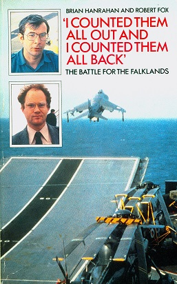 Secondhand Used Book - THE BATTLE FOR THE FALKLANDS by Brian Hanrahan and Robert Fox