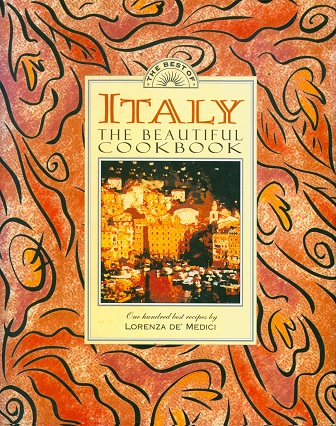 Secondhand Used Book - ITALY THE BEAUTIFUL COOKBOOK by Lorenza De' Medici