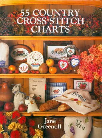 Secondhand Used Book - 55 COUNTRY CROSS STITCH CHARTS