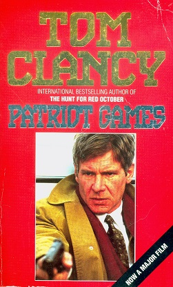 Secondhand Used Book - PATRIOT GAMES by Tom Clancy