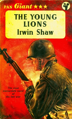 Secondhand Used Book - THE YOUNG LIONS by Irwin Shaw