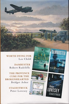 Secondhand Used Book - WORTH DYING FOR - DAMBUSTER - THE PROVENCE CURE FOR THE BROKENHEARTED - STAGESTRUCK by Select Editions