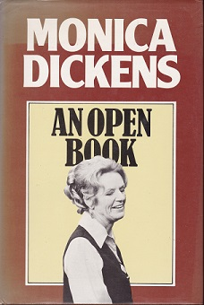 Secondhand Used Book - AN OPEN BOOK by Monica Dickens