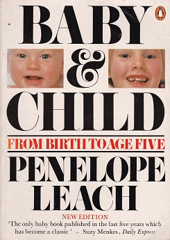 Secondhand Used Book - BABY & CHILD by Penelope Leach