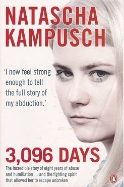 Secondhand Used Book - 3,096 DAYS by Natascha Kampusch